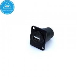 Conector USB para panel