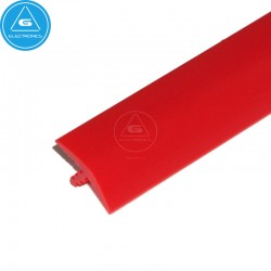T-molding 16mm - Rojo - mt