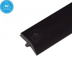 T-molding 16mm - Negro - mt
