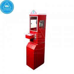 Mini máquina de venta con grúa (color rojo)