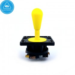 IL - Joystick Arcade EuroJoystick2 - 8way Industrias Lorenzo - color Amarillo