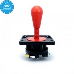 IL - Joystick Arcade EuroJoystick2 - 8way Industrias Lorenzo - color Rojo