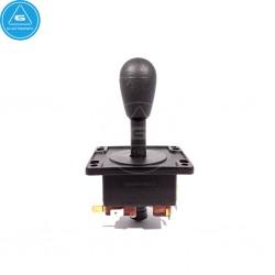 IL - Joystick Arcade Compacto - 4-8way Industrias Lorenzo - color Negro