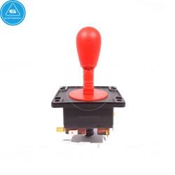 IL - Joystick Arcade Compacto - 4-8way Industrias Lorenzo - color Rojo